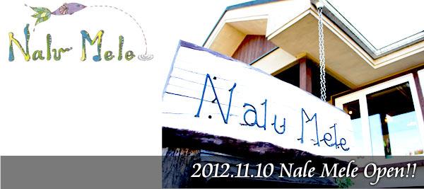 Nalu Mele 2012.11.10 Open!!